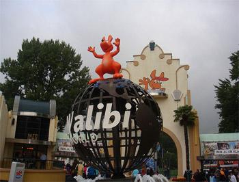 Ingang van het Belgische pretpark Walibi